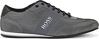 Boss Green Lighter_lowp_Mesh, Zapatillas para Hombre, Azul (Dark Blue 401), 41 EU