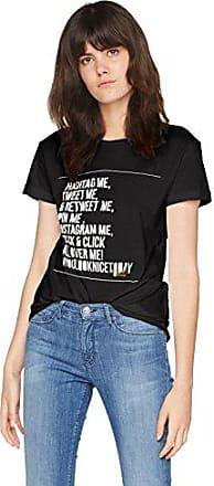 HUGO BOSS Boss Orange 50373320, Camiseta para Mujer, Negro (Black 001), X-Small