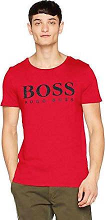 Tew, Camiseta para Hombre, Rojo (Bright Red 620), Large HUGO BOSS