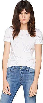 HUGO BOSS Tashirti 10131643 01, Camisa Manga Larga para Mujer, Blanco (White 100), Small