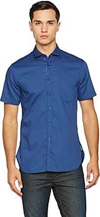 Boss Orange 10195949 01, Camisa Hombre, Azul (Dark Blue), Medium HUGO BOSS
