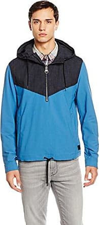 HUGO BOSS Boss Orange Odet, Blouson Homme, (Open Blue), X-Small (Taille Fabricant: 44)