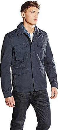 HUGO BOSS Boss Orange Okenzie, Blouson Homme, (Dark Blue), Medium (Taille Fabricant: 50)