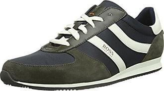 Zephir_Runn_ltdc, Sneakers Basses Homme, Vert (Dark Green 301), 42 EUBoss Orange by Hugo Boss