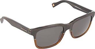 Boss Orange homme BO 0148/S QT 6TL Montures de lunettes, Marron (Wood Brown Gradient/Green), 53