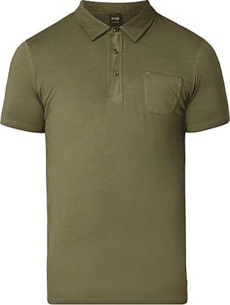 ärmelloses Poloshirt TIPOLO geknöpft Rüschen hellgrau HUGO BOSS