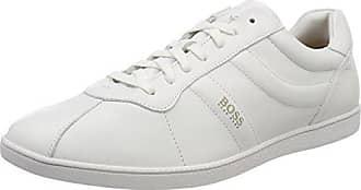 Rumba_Tenn_sdna, Sneakers Basses Homme, Blanc (White 100), 46 EUBoss Orange by Hugo Boss