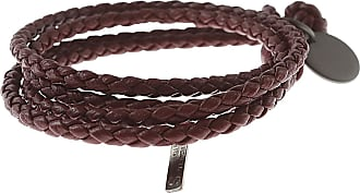 Bottega Veneta Bracelet for Women, Peacock, Leather, 2017, Small