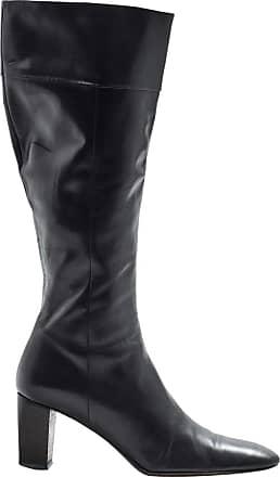 Pre-owned - Leather riding boots Bottega Veneta