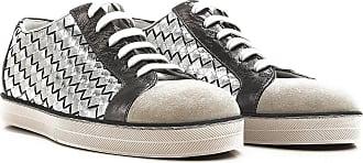 Sneakers for Men On Sale, Ardoise, Leather, 2017, 6.5 8 Bottega Veneta