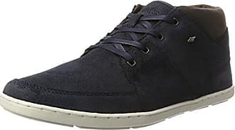 Boxfresh Cladd Sh Sde/Lea, Sneaker Uomo, Blu (Navy Nvy/Sdnbrn), 40 EU