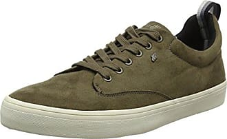 Boxfresh E14918 - Zapatillas de Piel Hombre, Color Gris, Talla 46 EU