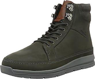 Boxfresh Cladd SH SDE/Lea, Zapatillas para Hombre, Marrón (Beige Kelp/Sdnbrn), 40 EU