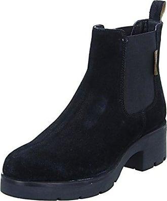 Boxx 75.264 Damen Stiefel Winterboots Stiefelette Warmfutter Schwarz (black), Größe 38