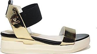 Braccialini Graue Sneaker Frau Keil Medien und Glitzer Artikel B2067 Gray Sneakers Shop Neue Frühlings- und Sommerkollektion 2018 (40)