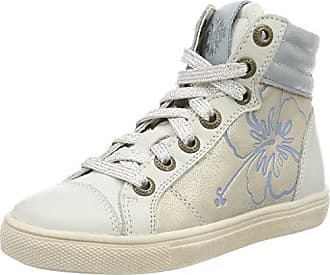 Braqeez Mädchen IGGY5 Hohe Sneaker, Schwarz (Black), 33 EU
