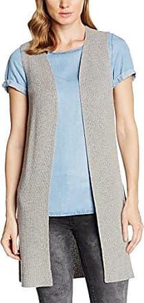 Oakwood Chaleco sin mangas para mujer, talla 4 - talla francesa, color gris (cloudy grey)