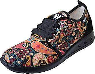 Break & Walk Damen HI221804 Sneaker, Grau (Grey 021), 37 EU