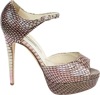 Pre-owned - Pony-style calfskin sandal Brian Atwood