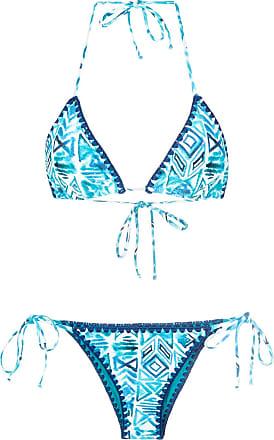 printed bandeau bikini set - Unavailable Brigitte