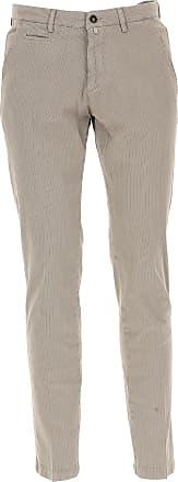 Pants for Men On Sale, Beige, Cotton, 2017, US 32 - EU 46 US 34 - EU 48 US 36 - EU 50 BRIGLIA 1949