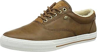 KUNZO - Zapatos con cordones de material sintético hombre, color marrón, talla 40 British Knights
