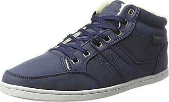 British Knights Devon Mid, Sneaker a Collo Alto Uomo, Blu (Blue Blue), 43 EU