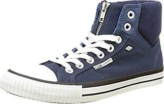 British Knights Devon Mid, Sneaker a Collo Alto Uomo, Blu (Blue Blue), 43 EU