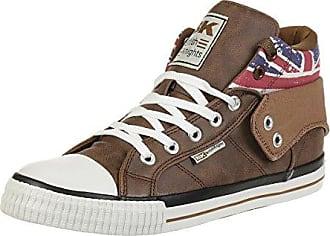 British Knights ROCO BK Sneaker B41-3709-11 England Flagge Weiss, Schuhgröße:EUR 43