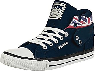 British Knights ROCO BK Sneaker B41-3709-14 England Flagge Cognac, Schuhgröße:EUR 40