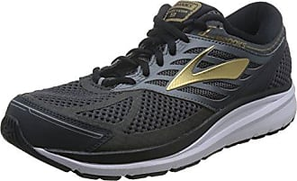 Brooks Addiction Walker V-Strap M - Zapatillas de correr de cuero hombre, color negro, talla 43.5 (9.5 UK)