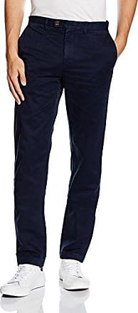 Mens Cbt 8w Cord with Stretch Milano Navy Trousers Brooks Brothers