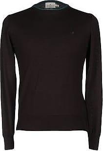 Sweater for Men Jumper On Sale, Melange Fog Grey, Cotton, 2017, M S XL Brooksfield
