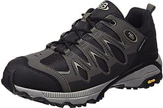 Kansas, Zapatos de Low Rise Senderismo Unisex Adulto, Negro (Schwarz/Anthrazit Schwarz/Anthrazit), 44 EU Brütting