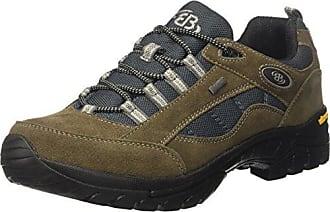 Bruetting Summit Low - Zapatos de senderismo de cuero hombre, color gris, talla 46