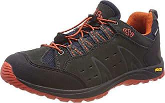 Bruetting Mount Shasta, Zapatos de Low Rise Senderismo Unisex Adulto, Azul (Anthrazit/Gruen Anthrazit/Gruen), 37 EU