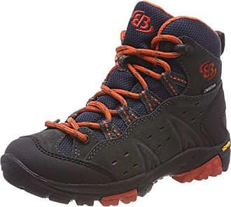 Bruetting Ohio, Zapatos de Low Rise Senderismo para Niñas, Morado (Lila/Türkis Lila/Türkis), 35 EU