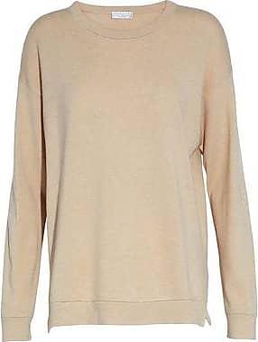 Brunello Cucinelli Woman Bouclé-knit Cashmere-blend Sweater Sky Blue Size XXL Brunello Cucinelli