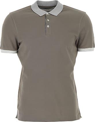 Polo Shirt for Men On Sale, White, Cotton, 2017, XXL Brunello Cucinelli