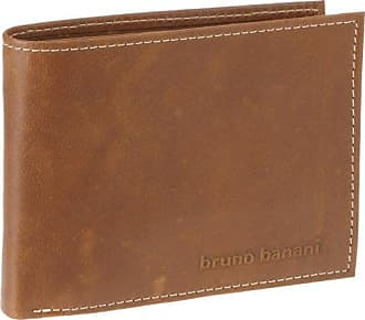 Bruno banani W320_2498 - Porte-monnaie de Piel Lisa Hombre, Color, Talla Einheitsgröße