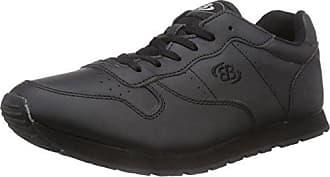 D. Classic - Zapatillas para Deportes de Interior de Piel para Hombre Negro Negro 50 Brütting