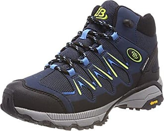 Fresno, Zapatos de Low Rise Senderismo Unisex Adulto, Azul (Marine/Grau Marine/Grau), 43 EU Brütting