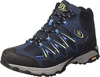 Bruetting Unisex-Erwachsene Expedition Mid Trekking-& Wanderhalbschuhe, Blau (Marine/Blau/Lemon Marine/Blau/Lemon), 42 EU