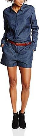 Bruuns Bazaar Liona - Pantalones de Peto Mujer, Azul (Dark Navy), 40 (Talla del Fabricante: 40)