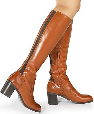 ASOS – KENZIE – Lässige Overknee Stiefel