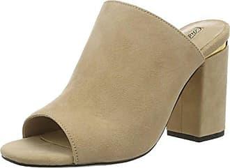Buffalo 181260, Zapatos con Tacon y Correa de Tobillo para Mujer, Beige (Nude 57), 42 EU