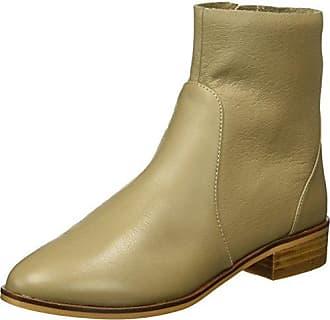 Buffalo B018F-33 P2166D PU Leather, Zapatillas de Estar por Casa para Mujer, Marrn (Camel), 38 EU