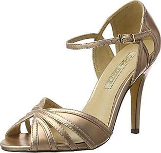 Womens 315276 Lh-129 Met Pu Wedge Heels Sandals Buffalo
