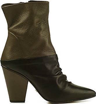 Buffalo London 411-8699 COW SUEDE 134405, Damen Fashion Halbstiefel & Stiefeletten, Braun (TAN 01), EU 37