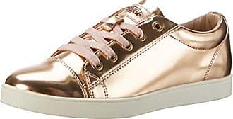 Buffalo 516-2139 Mirror PU, Zapatillas Para Mujer, Plateado (Silver), 39 EU